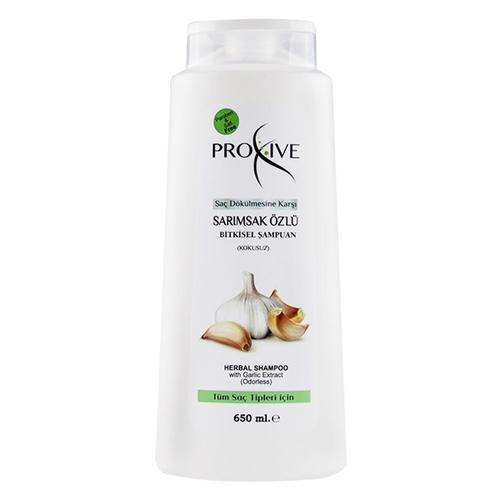 Proxive - Proxive Saç Dökülmesine Karşı Sarımsak Özlü Bitkisel Şampuan 650 ml