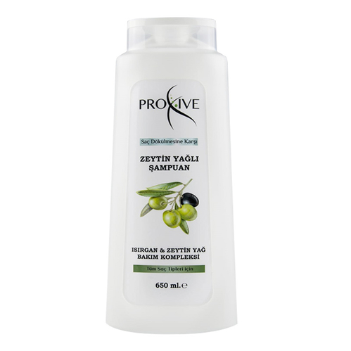 Proxive - Proxive Saç Dökülmesine Karşı Zeytin Yağlı Şampuan 650 ml