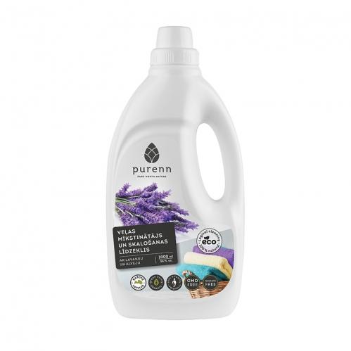 Purenn - Purenn Ekolojik Yumuşatıcı ve Çamaşır Durulayıcı 1000 ml