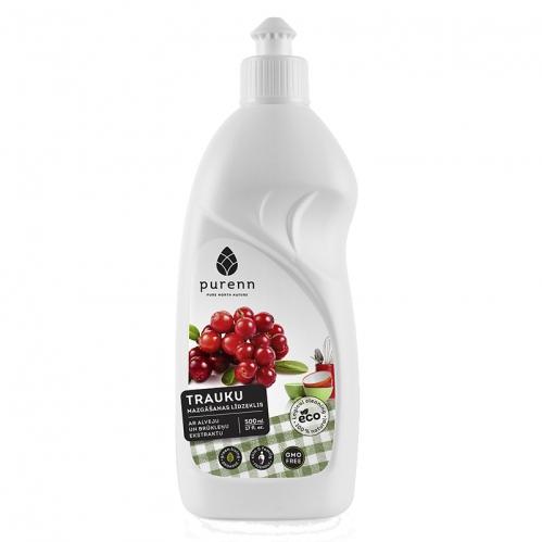 Purenn - Purenn Organik Hassas Cilt İçin Sıvı Bulaşık Deterjanı 500 ml