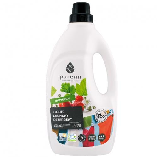 Purenn - Purenn Organik Sıvı Çamaşır Makinesi Deterjanı 1000 ml