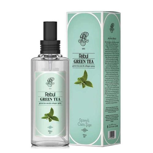 Rebul - Rebul Yeşil Çay Kolonya Spreyli Cam Şişe 100 ml