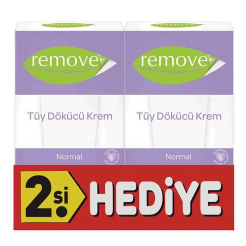 Remove - Remove Tüy Dökücü Krem Normal Ciltler 50ml + İkincisi HEDİYE