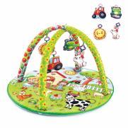 BabyJem - BabyJem Oyuncaklık Oyun Minderi | Çiftlik Yuvarlak