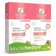 Bioder - Bioder Bitkisel Sirli Bant Ağda İkincisi HEDİYE 12+12 Adet