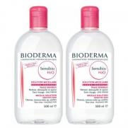 Bioderma - Bioderma Sensibio H2O İkili Set 500 ml + 500 ml