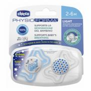 Chicco - Chicco PhysioForma Light Silikon Emzik 2 li (2-6 Ay)