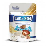 Dates N Choco - Dates N Choco Hindistan Cevizi ve Beyaz Çikolata Kaplı Hurma 90 gr
