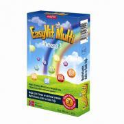 EasyVit - EasyVit Multi + Omega 3 Çiğnenebilir Tablet 30 Adet
