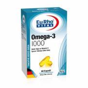 EuRho Vital - EuRho Vital Omega-3 1000 60 Kapsül