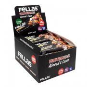 Fellas - Fellas Bademli ve Kakaolu Yüksek Protein Barı 45 gr x 12 Adet