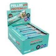 Fellas - Fellas Fındıklı ve Kakaolu Protein Barı 32 gr x 12 Adet