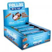 Fellas - Fellas Meyve Barı - Chialı ve Hindistan Cevizli 40 gr x 12 Adet