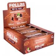 Fellas - Fellas Meyve Barı - Karışık Kuruyemişli ve Kakolu 40 gr x 12 Adet