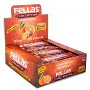 Fellas - Fellas Vitamin ve Meyve Barı - Portakal ve Zencefil 30 gr x 12 Adet