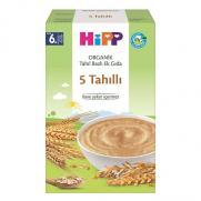 Hipp - Hipp Organik 5 Tahıllı Tahıl Bazlı Ek Gıda 200 g