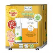 INCIA - INCIA Bebek İçin Doğal Güneş Kremi Spf 50 100 ml - Incia Doğal Koruyucu Vücut Losyonu 100 ml