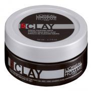 Loreal Professionnel - Loreal Homme Clay Erkeklere Özel Mat Wax 50 ml