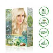 Maxx Deluxe - Maxx Deluxe Natural Beauty Saç Boyası 0.1 Platin Sarısı
