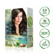 Maxx Deluxe - Maxx Deluxe Natural Beauty Saç Boyası 3.0 Koyu Kahve