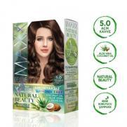 Maxx Deluxe - Maxx Deluxe Natural Beauty Saç Boyası 5.0 Açık Kahve