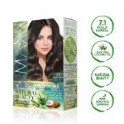 Maxx Deluxe - Maxx Deluxe Natural Beauty Saç Boyası 7.1 Küllü Kumral