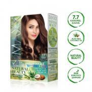 Maxx Deluxe - Maxx Deluxe Natural Beauty Saç Boyası 7.7 Karamel Kahve