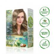 Maxx Deluxe - Maxx Deluxe Natural Beauty Saç Boyası 8.1 Küllü Açık Kumral