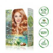 Maxx Deluxe - Maxx Deluxe Natural Beauty Saç Boyası 8.73 Altın Karamel