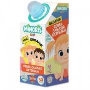 Minoris - Minoris Baby Organik Bebek Çamaşırları Temizleme Sıvısı Deterjanı 1Lt