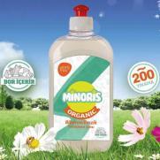 Minoris - Minoris Organik Biberon Emzik Temizleme Sıvısı 500ml