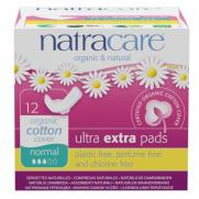 Natracare - Natracare Ultra Ekstra Ped - Normal 12 Adet