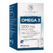 Naturalnest - Naturalnest Omega 3 1200 Mg 30 Kapsül