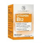 Naturalnest - Naturalnest Vitamin B12 60 Dilaltı Tablet