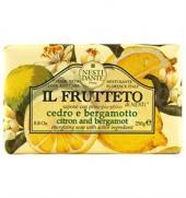 Nesti Dante - Nesti Dante Il Frutteto Citron Bergamot soap 250gr