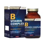 Nutraxin - Nutraxin B Vitamin Complex 60 Kapsül