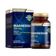 Nutraxin - Nutraxin Magnesium Citrate 250 mg Takviye Edici Gıda 60 Tablet
