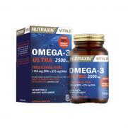 Nutraxin - Nutraxin Omega-3 Ultra 2500 mg 30 Yumuşak Kapsül