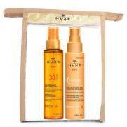 Nuxe - Nuxe SPF 30 Güneş Koruyucu Yüz ve Vücut Yağı 150 ml | Nemlendirici ve Koruyucu Saç Yağı 100 ml