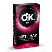 Okey - Okey Çifte Haz Prezervatif 10 adet