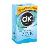 Okey - Okey Ekstra Zevk Prezervatif 20 Adet