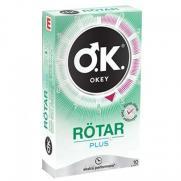Okey - Okey Rötar Plus Prezervatif 10 Adet