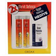 Orzax - Orzax Efervit Defence Takviye Edici Gıda 2x20 Tablet + Ocean Pelumcka 20 ml HEDİYE