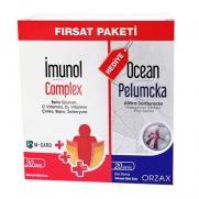 Orzax - Orzax İmunol Complex 30 Kapsül + Ocean Pelumcka 20 ml | Fırsat Paketi