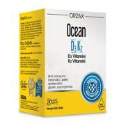 Orzax - Orzax Ocean D3K2 Vitamin Damla 20 ml