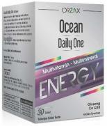 Orzax - Orzax Ocean Daily One Energy 30 Tablet - Takviye Edici Gıda