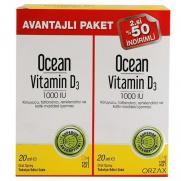 Orzax - Orzax OCean Vitamin D3 1000 IU 2 x 20 ml