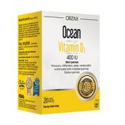 Orzax - Orzax Ocean Vitamin D3 400 IU Sprey 20ml