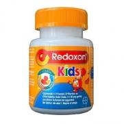 Redoxon - Redoxon Kids C Vitamini D Vitamini ve Çinko İçeren Çiğnenebilir Tablet 60 Adet