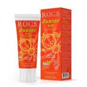 ROCS - Rocs Junior 6-12 Yaş Çocuklar için Diş Macunu ( Meyveli Gökkuşağı ) 60 ml
